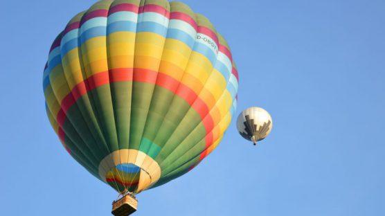 気球に乗れる!秋の風船クルーズ